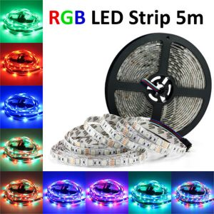 RGB LED Strip Kopen? RGB LED Strip 5m 250 leds €18,95