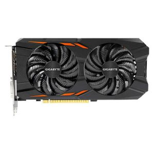 Refurbished videokaart Gigabyte GTX 1050 Ti Windforce OC