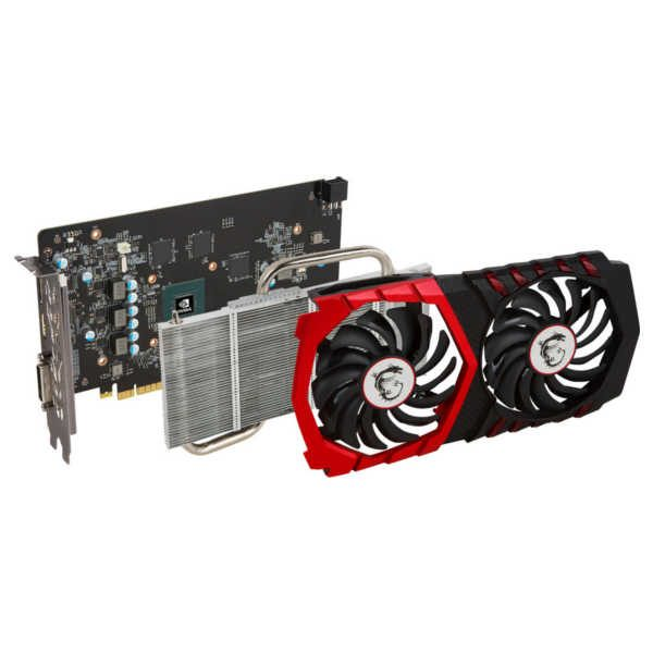 Refurbished videokaart MSI GTX 1050